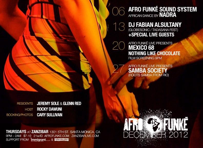 Afro-funke December 2013