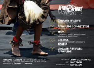 Afro Funke' May 2013
