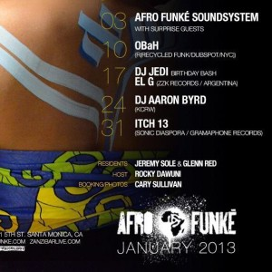Afro-funke January 2013